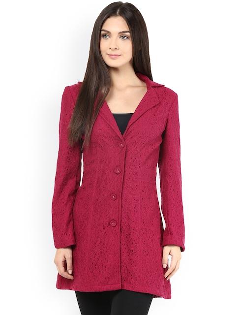 The Vanca Maroon Coat
