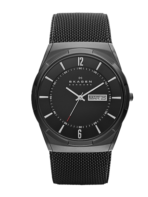 SKAGEN DENMARK Women Black Dial Watch SKW6006I