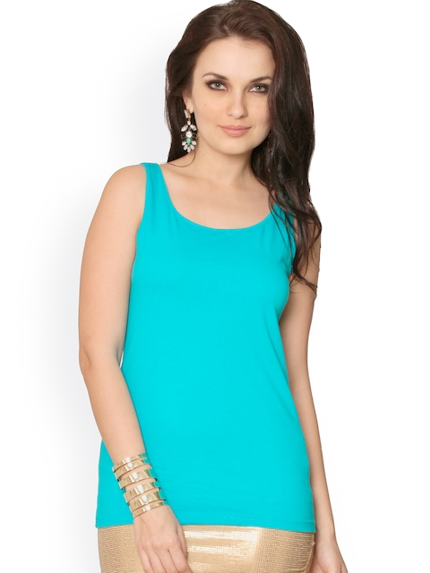 Miss Chase Turquoise Blue Top