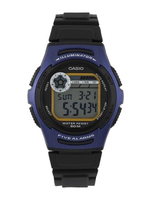Casio Youth W-213-2AVDF (D066) Digital Blue Dial Men's Watch (W-213-2AVDF (D066))