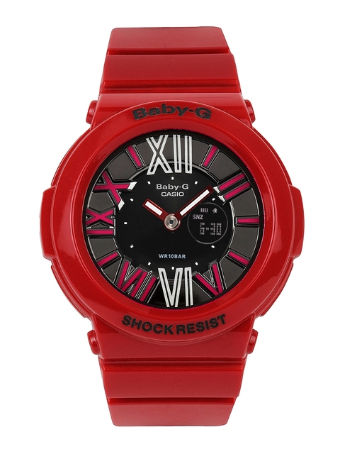 Casio Baby-G Women Red Analogue-Digital Watches (B144) BGA-160-4BDR