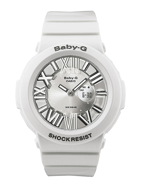 Casio Baby-G BGA-160-7B1DR (B145) Analog-Digital White Dial Women's Watch (BGA-160-7B1DR (B145))