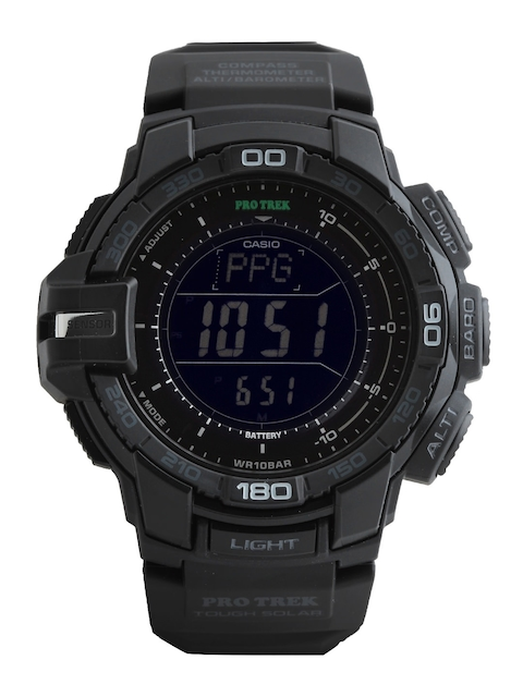 Casio Protrek Men Black Digital Watches (SL72) PRG-270-1ADR