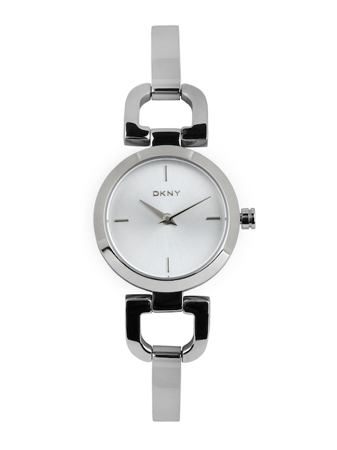 DKNY Women Silver-Toned Dial Watch NY8540I
