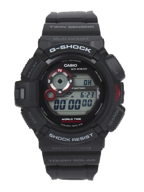 CASIO G-Shock Men Black Digital Watch G342