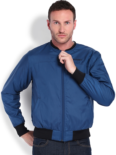 Wildcraft Men Blue Bomber Jacket