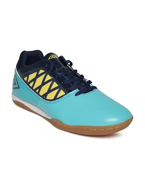 Umbro Men Turquoise Blue Sports Shoes