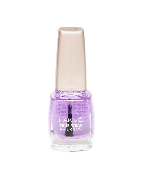 Lakme True Wear Classics Clear Glass Nail Polish 012