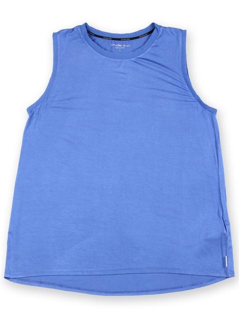 Calvin Klein Jeans Women Blue T-shirt