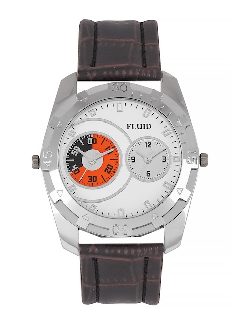 FLUID Men White Dial Watch FL116 WH01