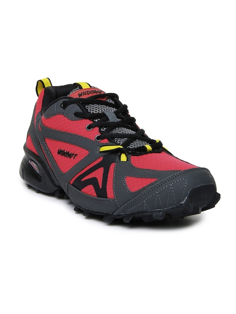 Wildcraft Men Red & Grey Craggrip Leap Outdoor Adventure Shoes