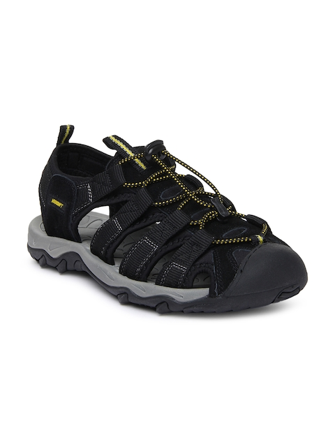 Wildcraft Men Black Terrafin Pace Sports Sandals