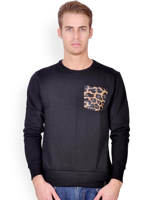 Tiktauli De.Corps. Men Black Sweatshirt