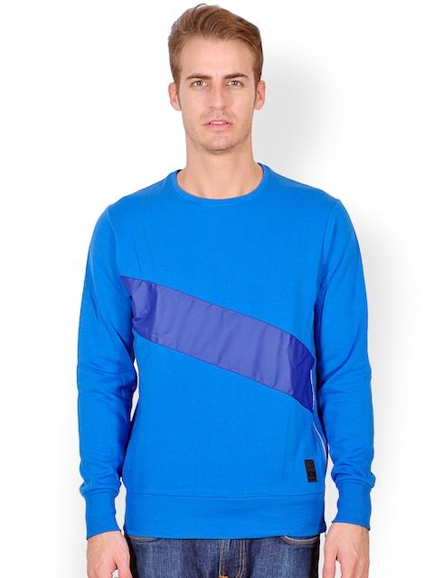 Tiktauli De.Corps. Men Blue Sweatshirt