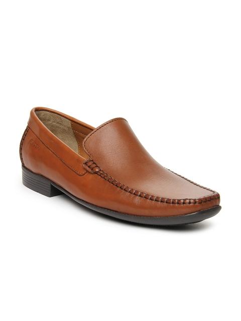 Ruosh Work Men Tan Semiformal Shoes