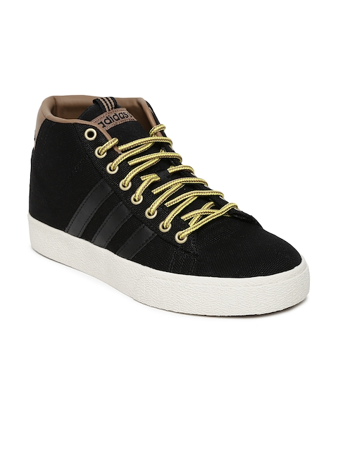 Adidas NEO Men Black Daily ST Mid Casual Shoes