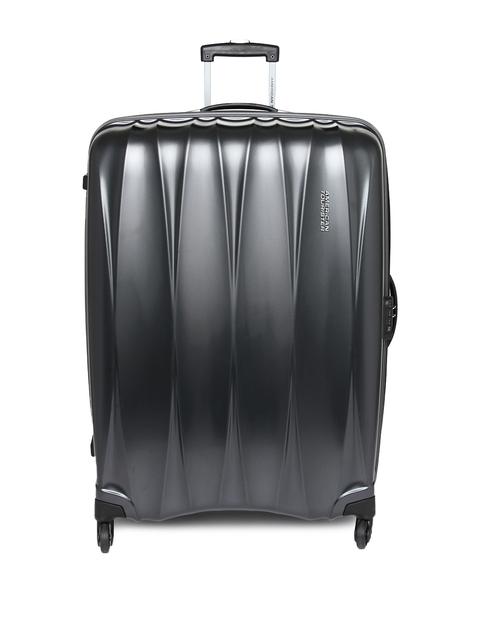 AMERICAN TOURISTER Unisex Gunmetal-Toned Arona Large Trolley Suitcase