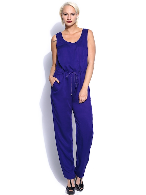 French Connection Women Blue Jumpsuit