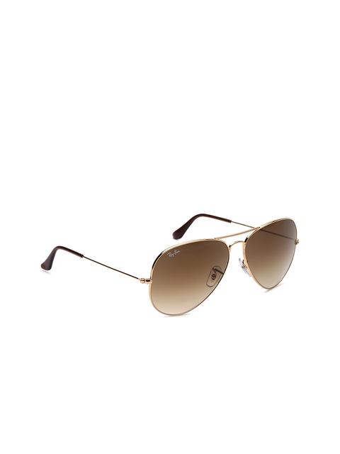 Ray-Ban Unisex Aviator Sunglasses 0RB3025