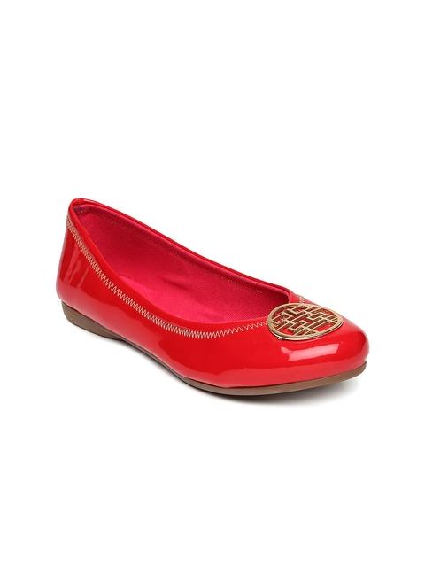 Catwalk Women Red Ballerinas