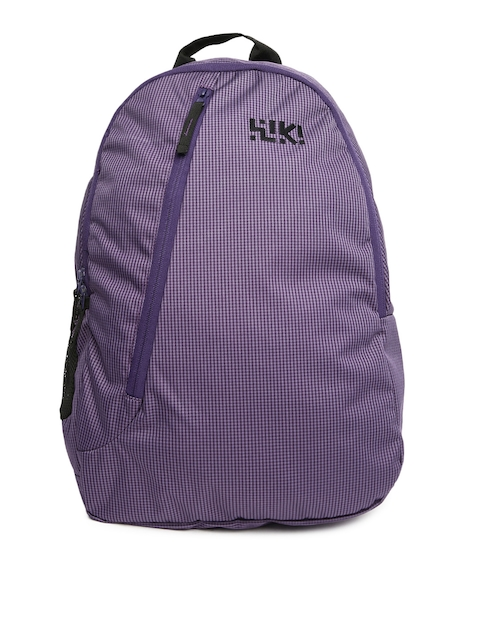 Wiki by Wildcraft Unisex Purple Fender Backpack