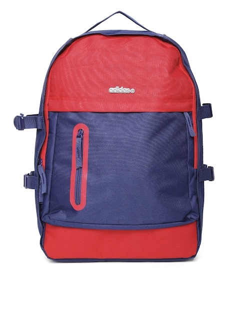 Adidas NEO Men Blue & Red Backpack