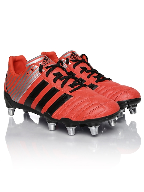 Adidas Men Coral Red Regulate Kakari SG Rugby Shoes