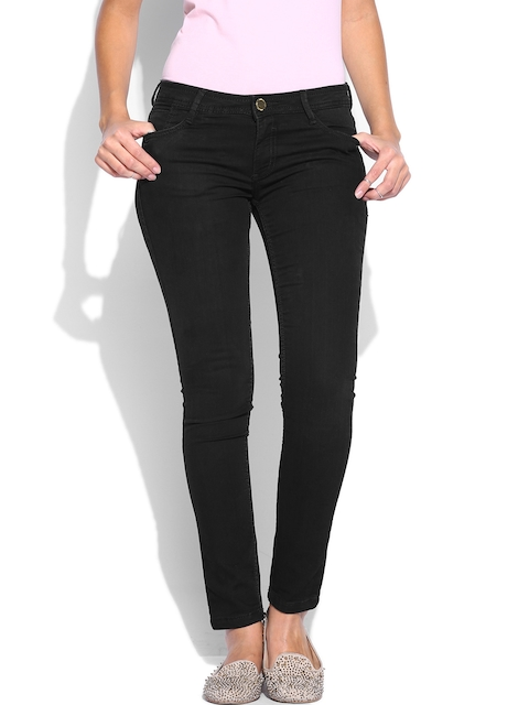 Van Heusen Woman Black Slim Fit Jeans