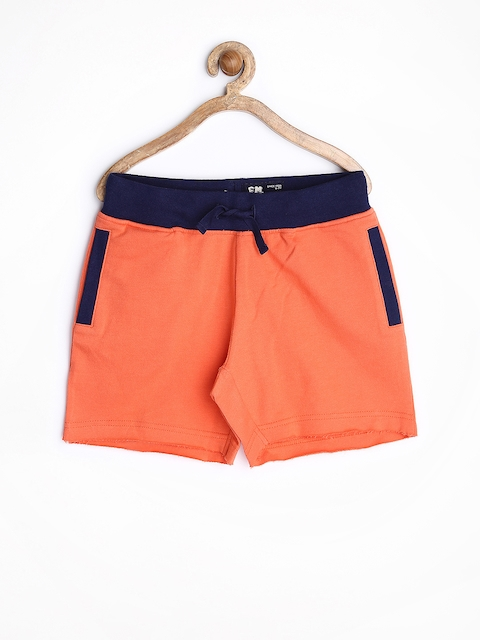 Flying Machine Boys Coral Pink Shorts