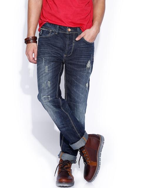 Breakbounce Dark Blue Buddy Hug Regular Fit Jeans