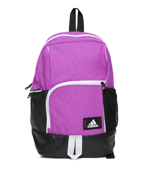 Adidas Unisex Purple & Black Backpack