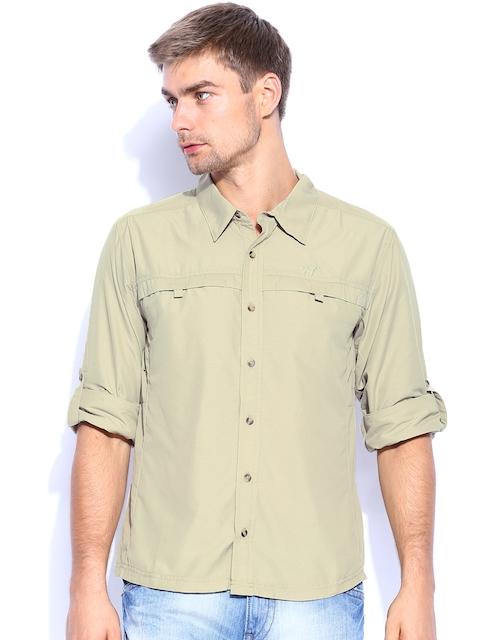 Wildcraft Men Khaki Casual Shirt