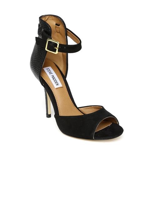 Steve Madden Women Black Heels