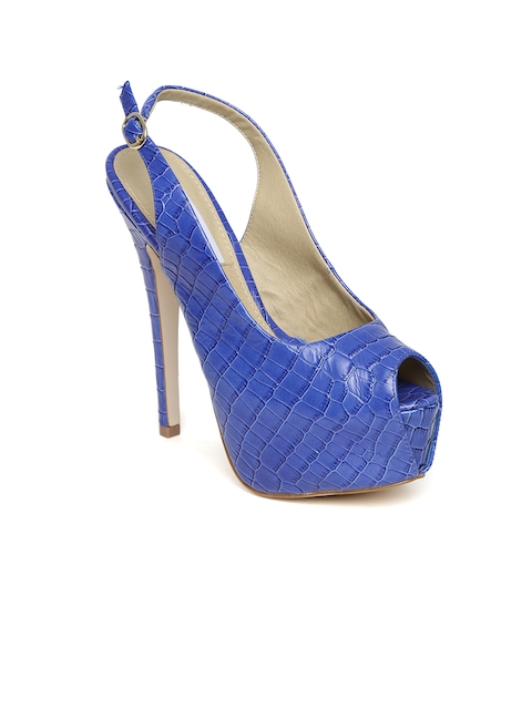 Steve Madden Women Royal Blue Stilettos