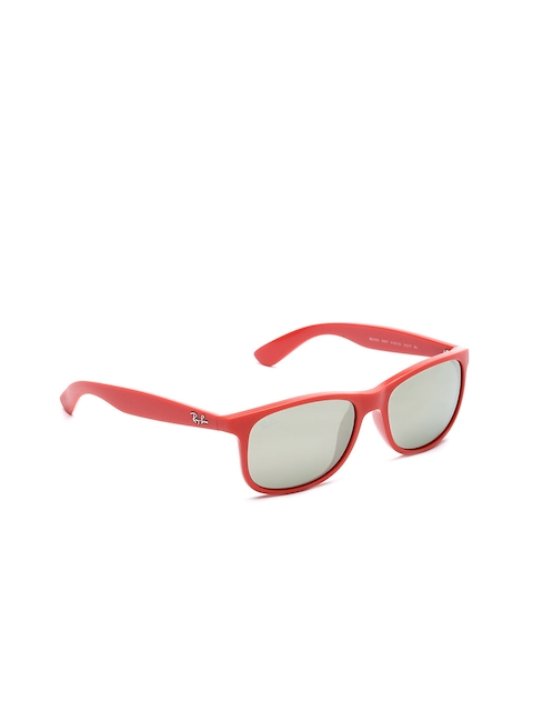 Ray-Ban Unisex Rectangular Sunglasses 0RB4202