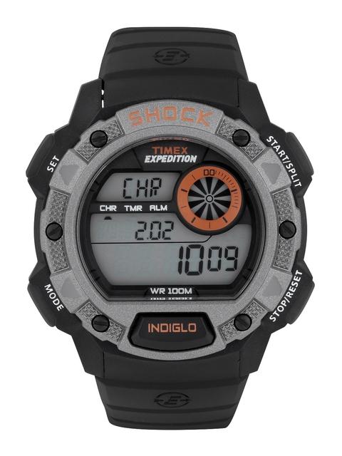 Timex Shock Digital Grey Dial Men's Watch, T49978