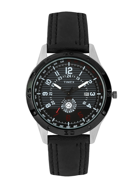 Timex Men Black Dial Watch TI000U90200