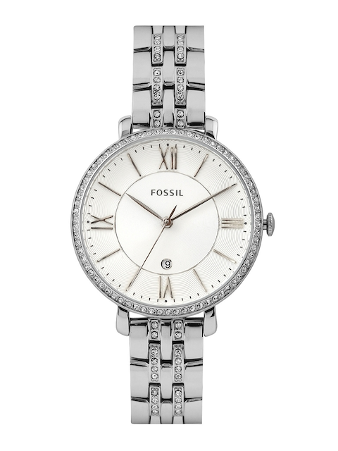 Fossil Women White Dial Watch ES3545l