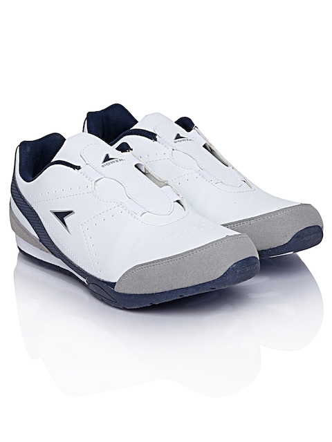 Power by Bata Men White Casual Shoes