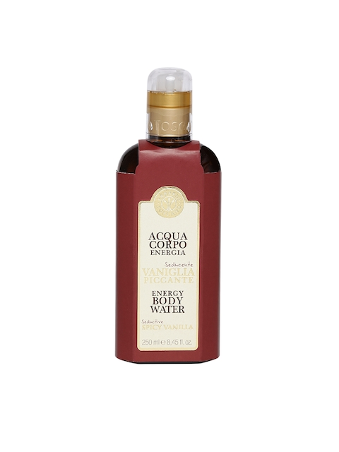 ERBARIO TOSCANA Unisex Seductive Spicy Vanilla Energy Body Water