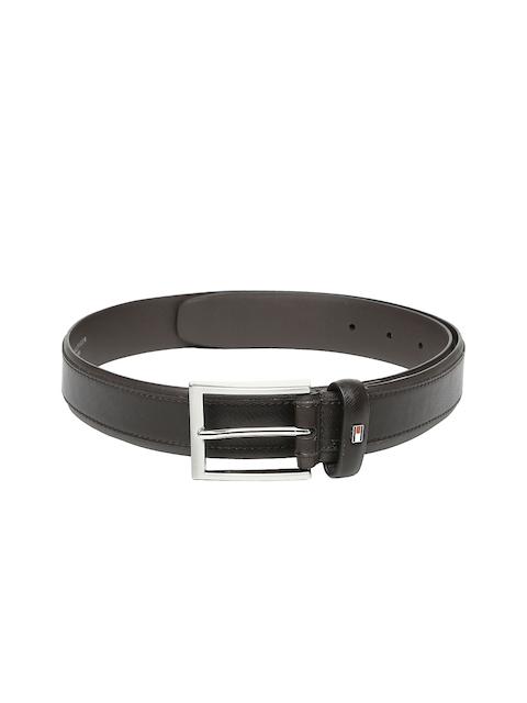 Tommy Hilfiger Men Brown Leather Belt