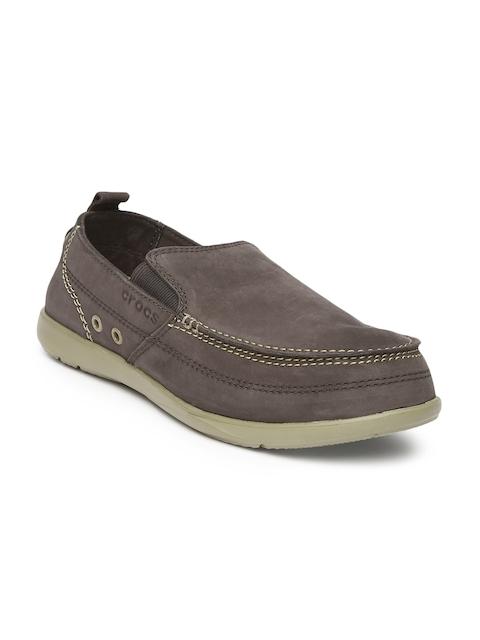 Crocs Men Brown Harborline Casual Shoes