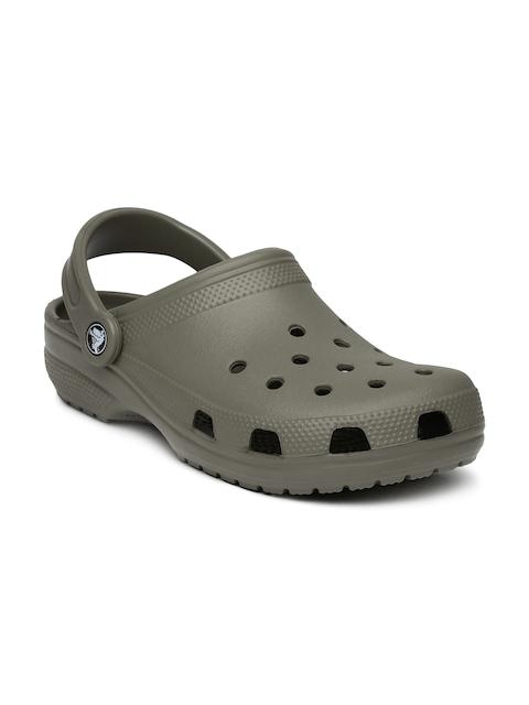 Crocs Unisex Brown Classic Clogs