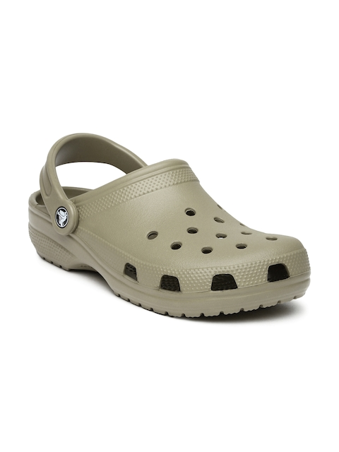 Crocs Unisex Brown Classic Clogs