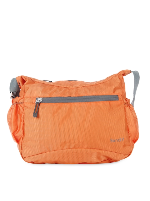 Bendly Women Orange Messenger Bag