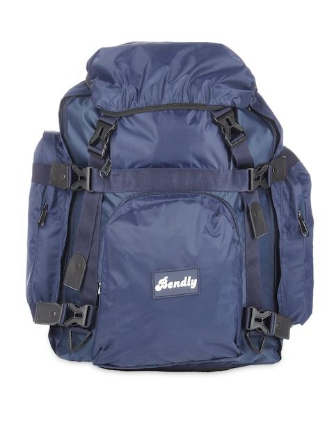 Bendly Unisex Blue Rucksack