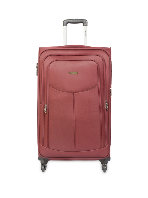 Safari Unisex Red Small Trolley Suitcase