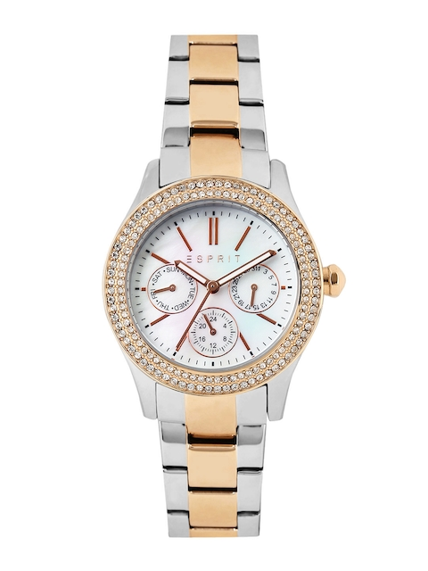 ESPRIT Women Pearly White Dial Watch ES103822016