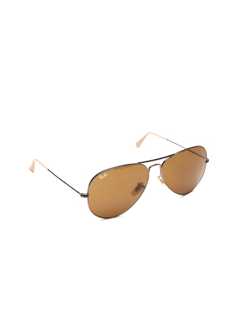 Ray-Ban Unisex Aviator Sunglasses 0RB3025