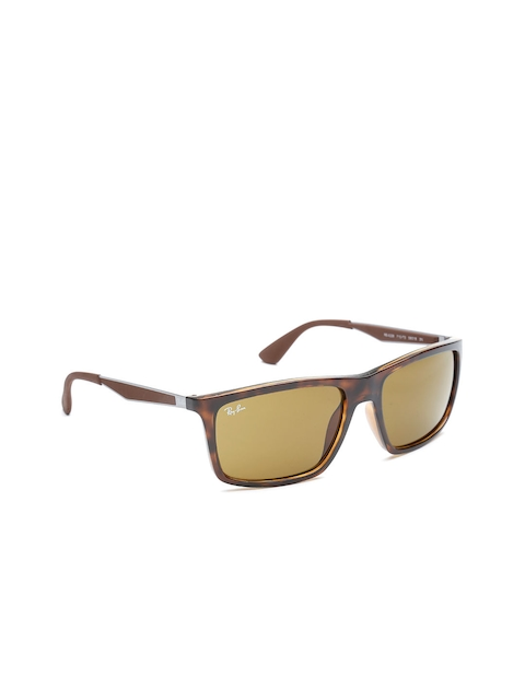 Ray-Ban Unisex Rectangular Sunglasses 0RB4228